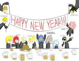 Org XIII New Years Drunkfest by StormTitan