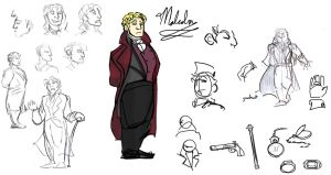 Malcolm Designs by theTieDyeCloak