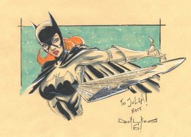 Batgirl sketch by qualano