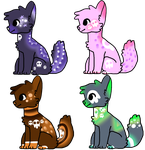 OTA Adoptables [Closed] by ravenwithpens