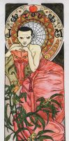 Moriarty Art Nouveau by Loeselit