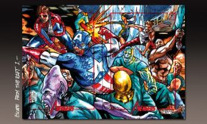 MARVEL 2012 Greatest Heroes Puzzle I by PencilInPain