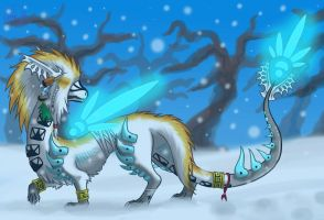 Footsteps in the snow by HM-Dragon-Dreamer