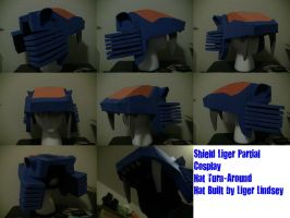 Shield Liger Partial Commission 3 by LigerZeroLindsey