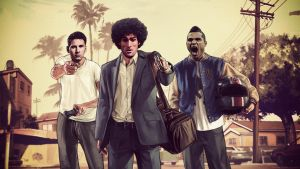 Players in GTA))) by Hshamsi