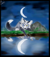 Touching The Moon by The-Delta-Fox