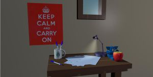 Keep Calm and Carry On by ARovnyak