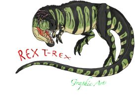 new ID and Car Training a Rex by RexT-Rex
