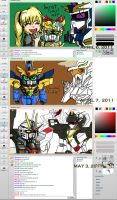 Iscribble with MegaO93 Collab by Xzeit