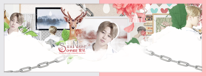 161013 Jimin Facebook Cover gif. by NWE0408