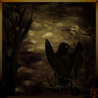 Lord of the Dark Crows by Forumsdackel