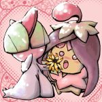 Ralts and Cherrim Oekaki by AudGreen