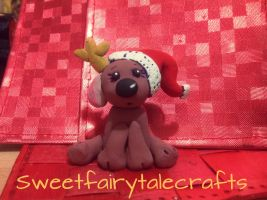 Another Christmas deer by Sweetfairytalecrafts