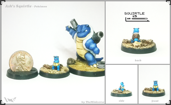 MS16-003 Ash's Squirtle by TheMiniverse