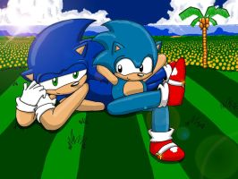 Sonic Generations-Good Ol Days by Die-Laughing