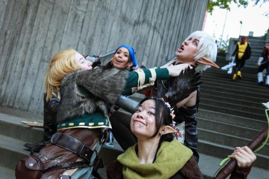 Dragon Age II- Squad Goals by twinfools