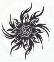 Tribal Sun by ReaperXXIV