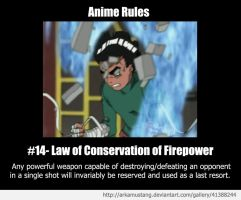Anime Rule #14 by ArkaMustang