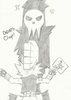Death... CHOP! by Chikoritapok