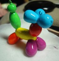 Balloon animal Charm by thepinupgirl