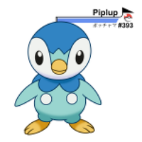 #393 Piplup by csillaghullo