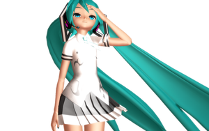 MMD PD Rolling Girl Miku by MariaTheAwesum