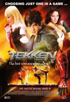 Tekken 2010 Fan Movie Poster by chenmeicai