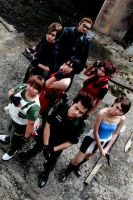 Resident Evil Group Shoot 10 by aiko-mizuno