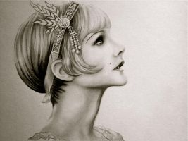 Daisy Buchanan by Lauren-Gowler
