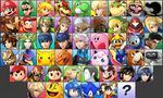 Super Smash Bros. 3DS Roster by NintendoFanDj