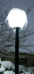 Solo Frozen Lamp Post by rantmedia