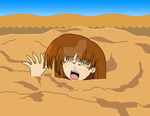 The Swallowing Sand by TheThunder-Art