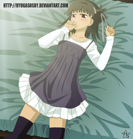 Prunus Girl by hyugasosby