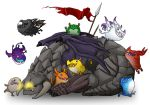 Dota - Greevil and Roshan by spidercandy