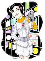 Sandra Benes Space 1999 by misfitcorner