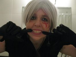 Allen's smiles Test cosplay WIP by Die-Rose