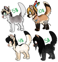 Adoptables - Open (Paypal/Points) Lowered Price by LioKat