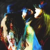 AXL AND SLASH by JALpix