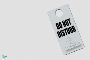 DO NOT DISTURB Wall by riftsurround