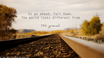 The world looks different from the ground. by Sourdend