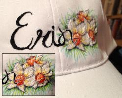 Erin Hat Embroidery by Mysticalpchan