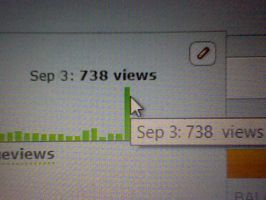 738 VIEWS?! :O by Angelgirl10