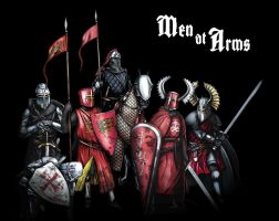 Men at Arms by dmavromatis