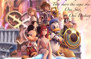 One Sky, One Destiny by Roxas--Lover