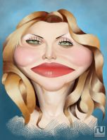 Courtney Love by RahulUjjal
