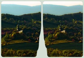 Heimburg in the Harz Mountains 3D :: HDR Cross-Eye by zour