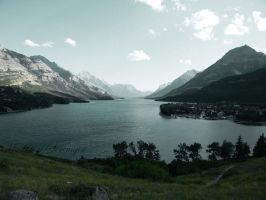 Cameron Lake by Caelistis-Rydraline