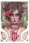 Catrina colorada by Medusa-Dollmaker