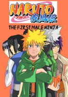 Naruto The First Male Nin Book Cover by MegaDarkly