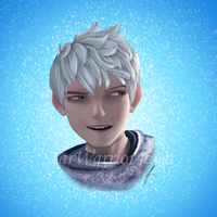 Jack Frost Portrait by Starwarrior4ever